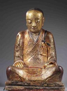 По мнению буддолога Эрика Брейна, эта мумия - останки мастера Люцюаня. Фото: Музей Drents