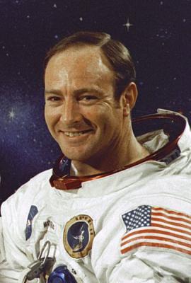 Астронавт д-р Эдгар Митчелл. Фото: NASA